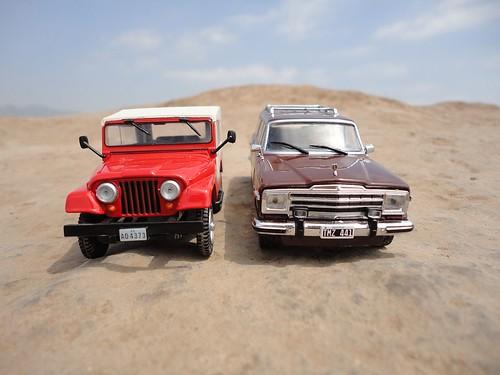 Jeep Willys CJ-5 (1954 - 1983) 1/43 (PCT - IXO)
