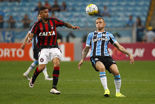 Grêmio X Atlético-PR - 13/10/2016