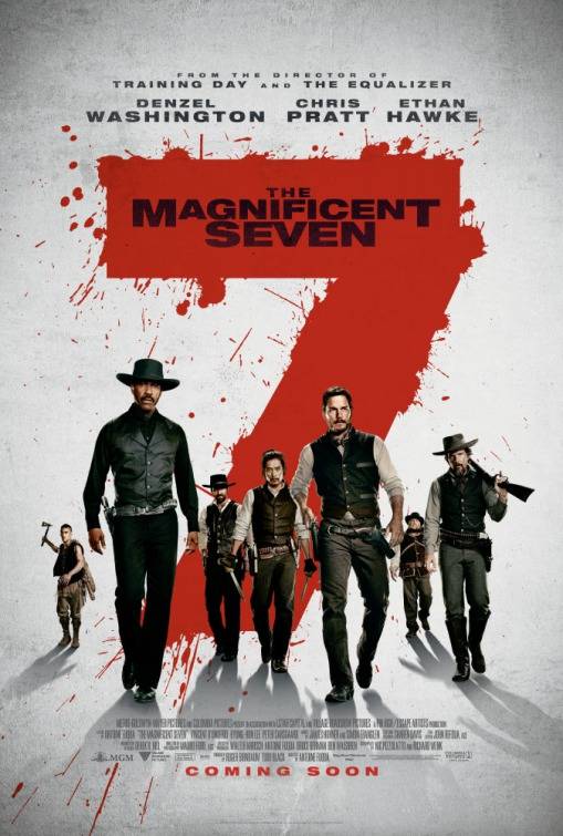The Magnificent Seven - 2016 - Poster 2