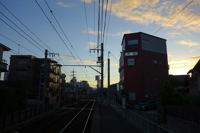 2016/08 叡山電車元田中駅 #02