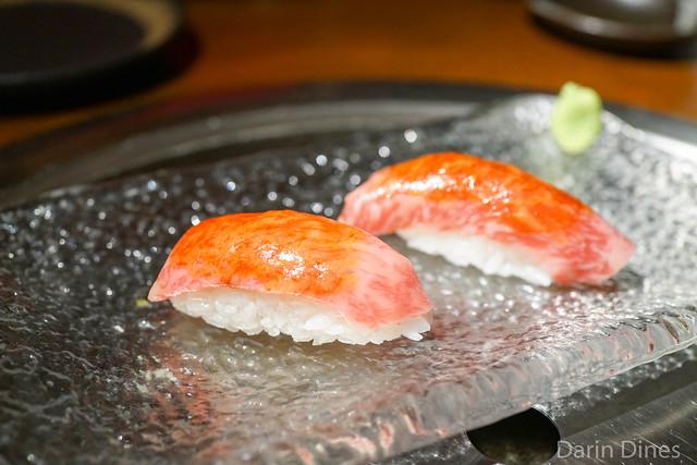 Wagyu Toro Sushi