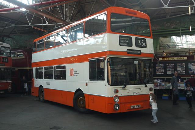 Leyland Atlantean VBA 181S, Greater Manchester Transport