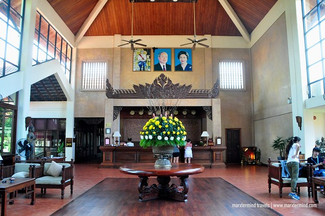 Lobby of Angkor Palace Resort & Spa