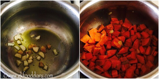 Sweet Potato Carrot Soup Recipe for Babies, Toddlers and Kids - step 2