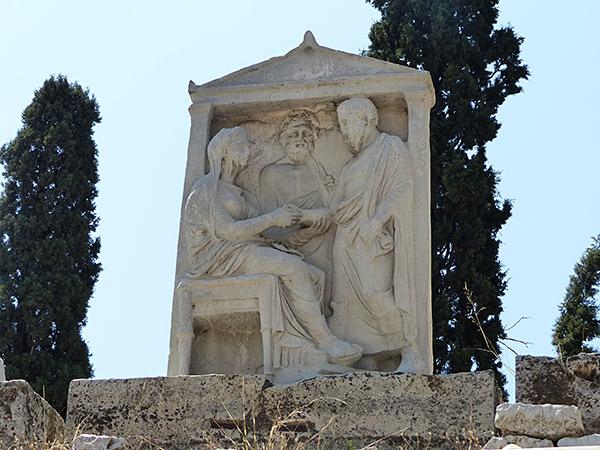 le cimetière du céramique 12