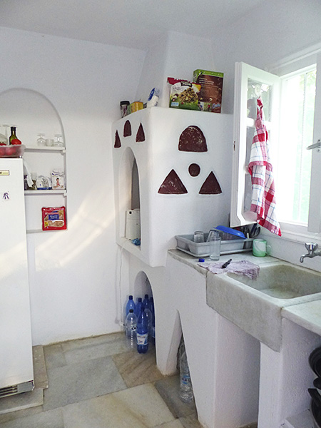 notre cuisine à naxos