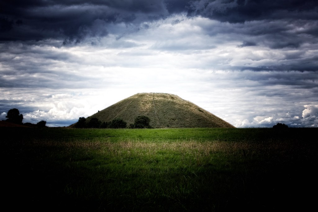 Mysterious Silbury Hill, Wiltshire