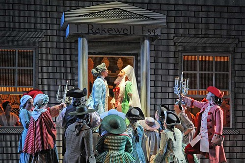Glyndebourne's production of The Rake's Progress. © Alastair Muir/Glyndebourne Production Ltd. 2010 | by Royal Opera House Covent Garden