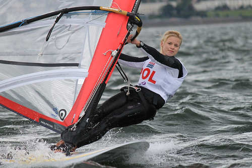 Day 1 - Natalia Kacpzik (POL) - RS:X Girls | by ISAF Media Library