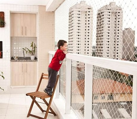 Balcony security mesh flickr photo sharing for Balcony covering nets