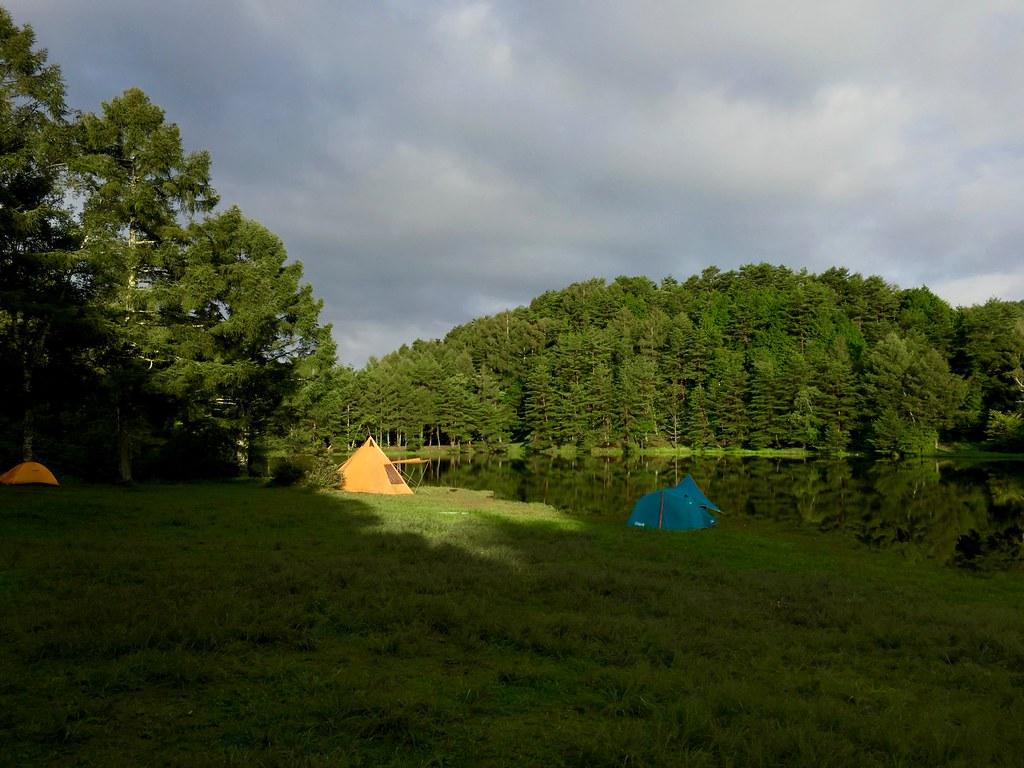 千代田湖キャンプ場