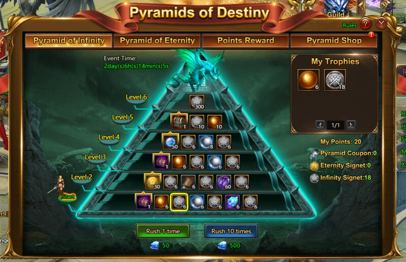 2016-Sep-4 Pyramid of Infinity