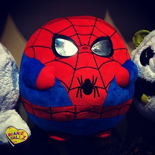 The amazing[ly round] Spiderman | by cindylu