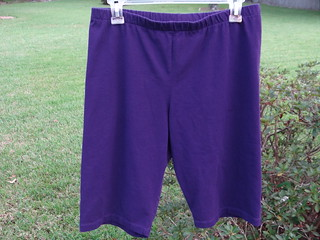 Purple Bike Shorts | by sew4now