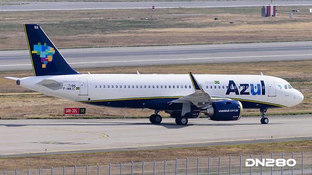 Azul A320-251N msn 7186