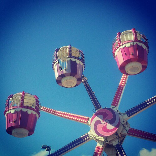 #big_wheel    #fair     #ride     #blue   #colour    #vivid | by Patrick mcr