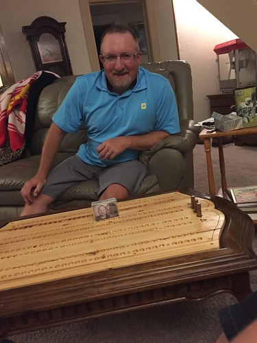 Emma:elk city cribbage board