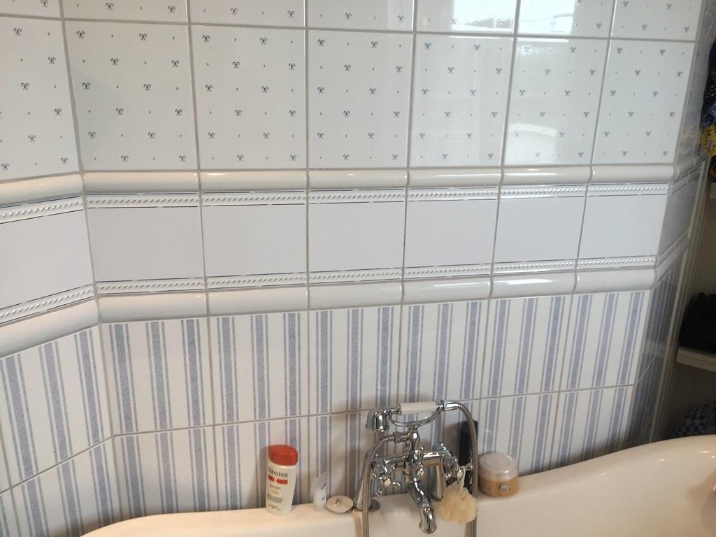 Badrummet efter billig badrumsstyling