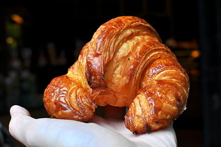 Croissant from Boulangerie Anthony Bosson - Paris | by Cathy Chaplin | GastronomyBlog.com