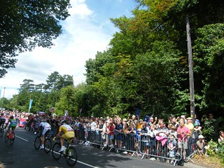 London 2012 Olympic cycling road race | by Alan P Jones