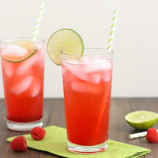 Raspberry Lime Rickey | by Tracey's Culinary Adventures