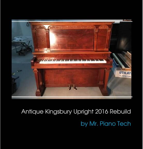 Antique Kingsbury Upright