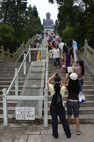 stairs up to Big Buddha | by SpecialKRB