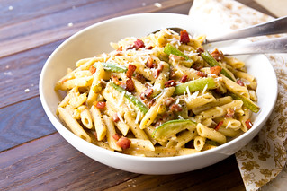 Zucchini Carbonara | by TheBrewer&TheBaker