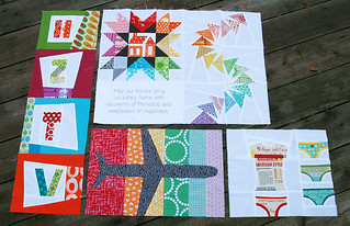 The Traveling Quilts for Monica - Sent | by Fresh Lemons : Faith