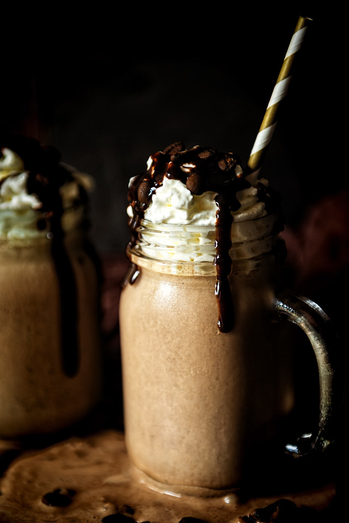 Spiked Mexican Chocolate Milk Shake Recipe - a little heat goes a long way with a shot of tequila anejo and a smooth chocolate sauce in this fun adult only recipe! See the full recipe at PasstheSushi.com