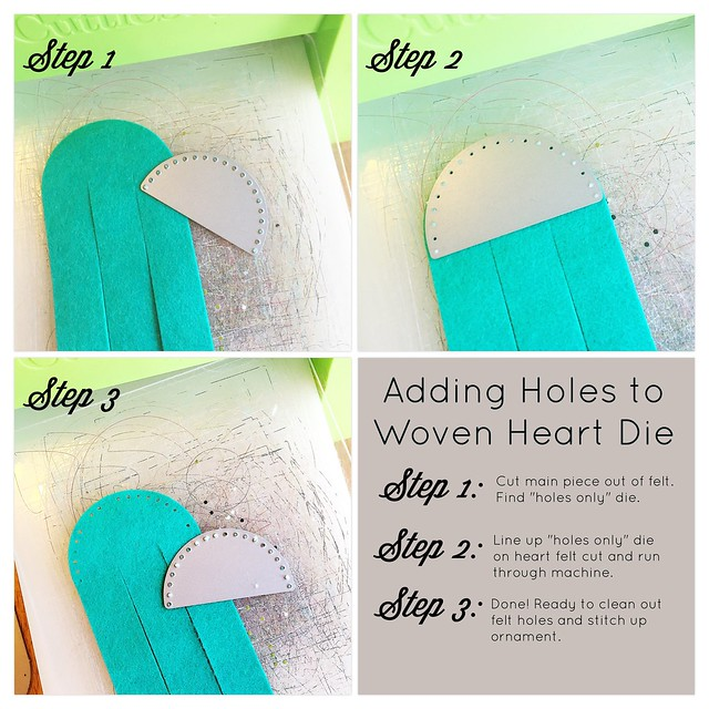 Woven Heart Die Collection No Sew to Sew How-To