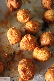 Goat Cheese Hushpuppies | by Heather Christo