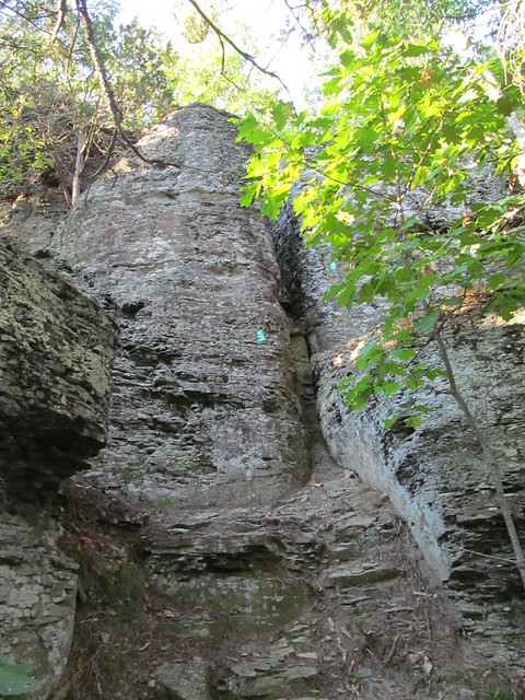 Rock Scramble on The Cliff at Middleburgh