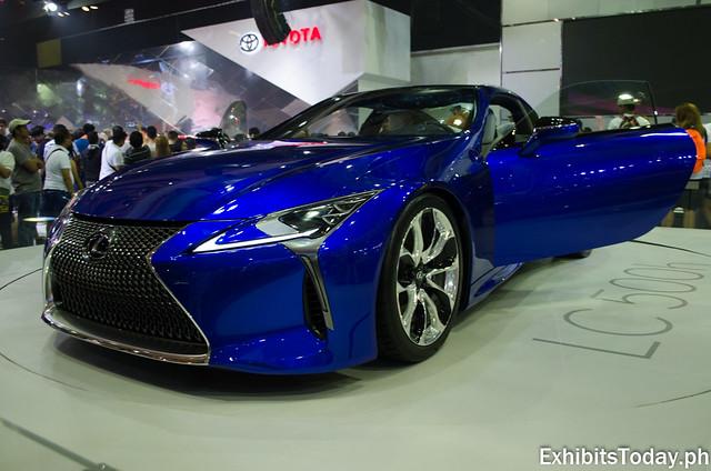 Blue Lexus LC500h