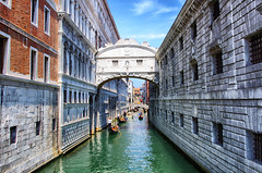 Italy Venice Bridge of Sighs August 2012
