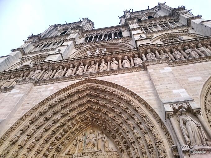 Cathedral Basilica Notre Dame of Paris