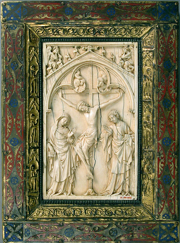 Book Cover with Crucifixion in ivory [14th cent]   Flickr ...