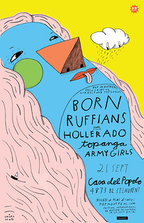 BORN RUFFIANS POSTER | by Ohara.Hale