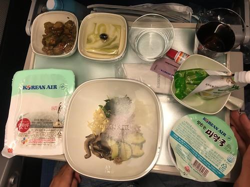 大韓航空自慢のビビンバ