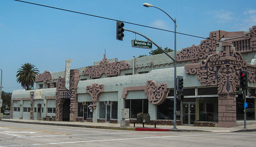 Monrovia Historic Aztec Hotel (3162)