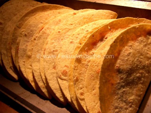 Quesadillas au Poulet & Pousses d'Epinard © Ana Luthi Tous droits réservés 006