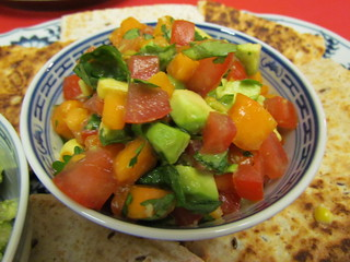 Tropical Avocado Salsa Fresca