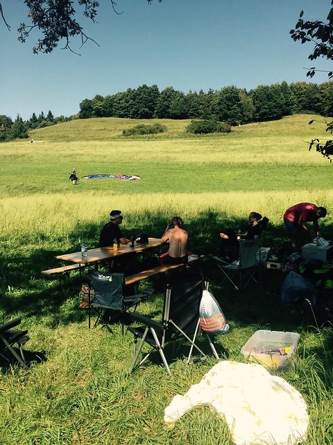 Rebbergfest mit Oldtimerfliegen im August 2016