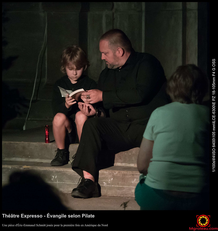 Théâtre Expresso - Évangile selon Pilate