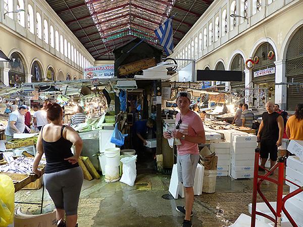 clément au marché à poissons