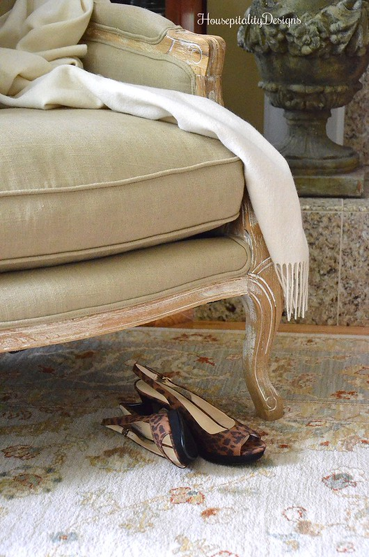 Helena Chair - Soft Surroundings - French Country Fall Blog Tour - Housepitality Designs