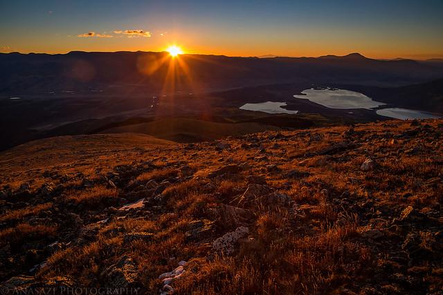 Mount Elbert Sunrise