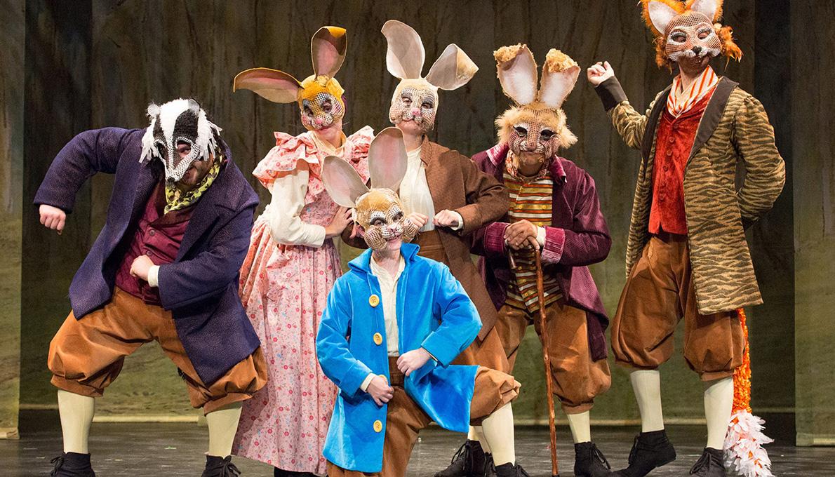 Enchantment Theatre Company's Peter Rabbit Tales