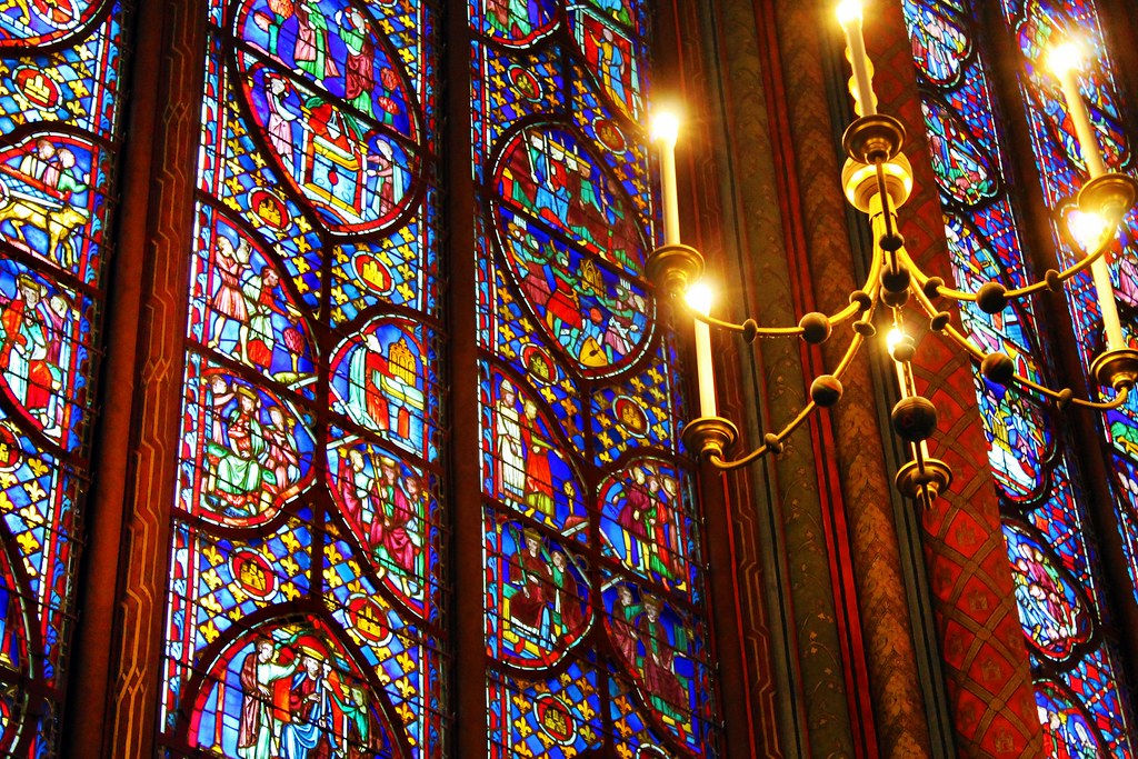 Drawing Dreaming - guia de visita da Sainte-Chapelle em Paris