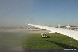 Almost a Water Cannon Salute | by AirlineReporter.com